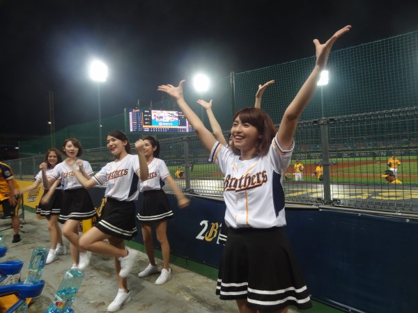 チア リーディング 台湾