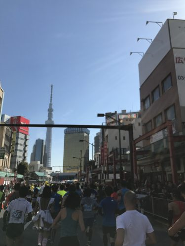 東京マラソン スカイツリー