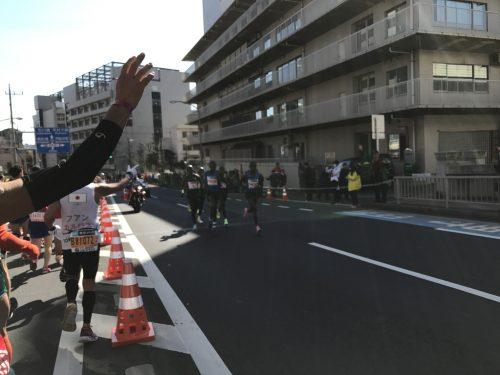 東京マラソン トップ選手